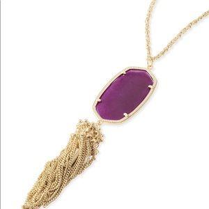Purple Kendra Scott Rayne Necklace